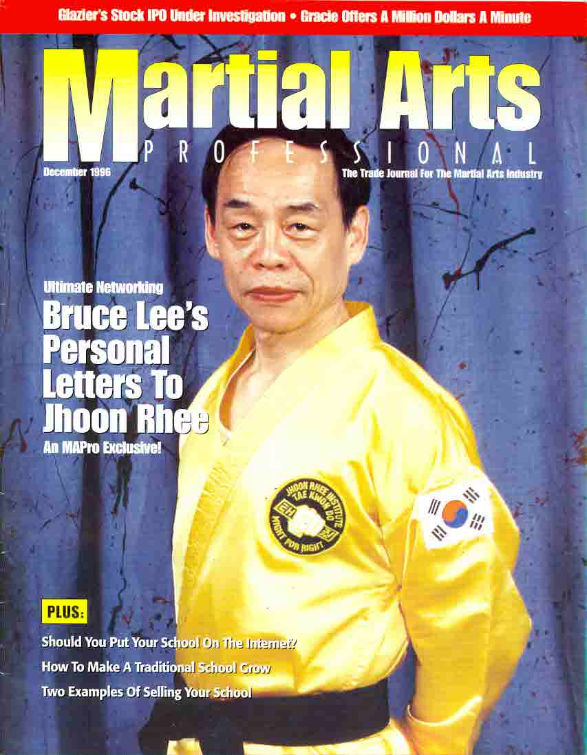 12/96 Martial Arts Professional